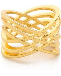 Gorjana - Jillian Ring - Gold - Lyst