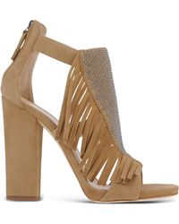Giuseppe Zanotti | Fringed Suede Sandals | Lyst