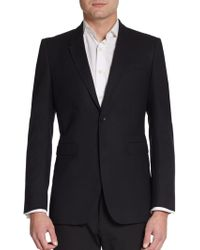 Burberry Prorsum Wool Two-button Blazer - Lyst