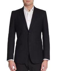 Burberry Prorsum Wool Two-button Blazer - Lyst