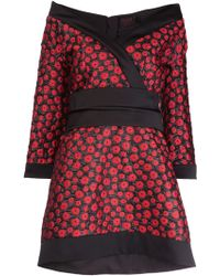 L'Wren Scott Collar Wrap Dress - Lyst