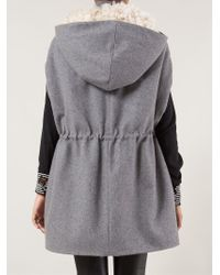 Thakoon Addition - Drawstring Waist Hooded Cap - Lyst