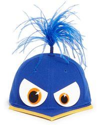 Piers Atkinson Bird Beak Feather Baseball Cap - Lyst