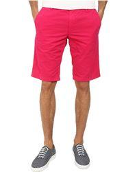 BOSS Orange - Schino-Shorts-D Regular Fit Overdyed Gabardine Shorts - Lyst
