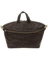 Givenchy Medium Black Nightingale Leather Bag - Lyst