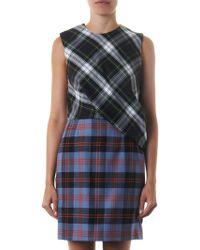 McQ by Alexander McQueen Multiplaid Tartan Dress - Lyst