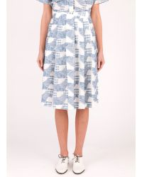 Billy Reid Roebling Skirt - Lyst