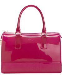 Furla Candy Bauletto Satchel - Lyst