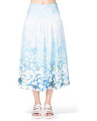 Cacharel Midi Skirt / Maxi Skirt - 15Efp108417 - Lyst