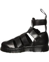 Dr. Martens Geraldo Ankle Strap Sandal Black - Lyst