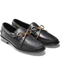 Cole Haan & Todd Snyder Willet Camp Moc In Black - Lyst