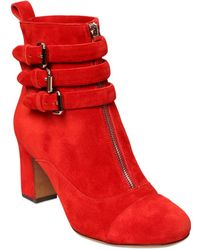 Tabitha Simmons | 70mm Nash Suede Buckle Ankle Boots | Lyst