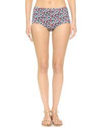 Pret-a-surf - Back Zip Bikini Bottoms - Lyst