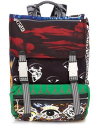 Kenzo Multi-icon Backpack - Lyst