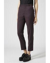Topshop Premium Suit Trousers - Lyst