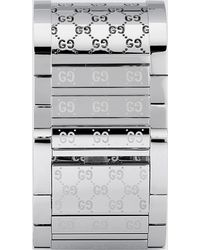 Gucci - Twirl Large Stainless Steel Watch - Lyst