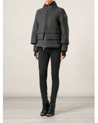 Moncler Grenoble - Layered Padded Coat - Lyst