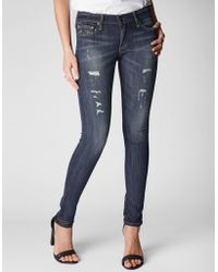 True Religion Halle Super Skinny Womens Jean - Lyst