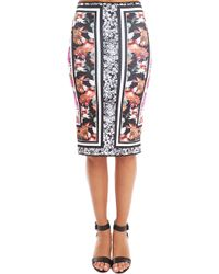 Clover Canyon Floral Scarf Reversible Skirt - Lyst
