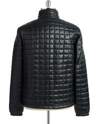 Lacoste - Quilted Waterproof Puffer Coat - Lyst