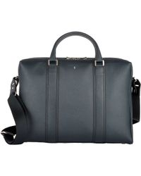 Serapian - Two-compartment Briefcase - Lyst