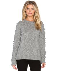 Kathryn Mccarron - Oliver Popcorn Knit Sweater - Lyst