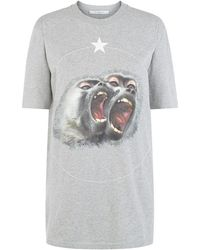 Givenchy - Monkey Brothers T-shirt - Lyst