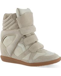 Isabel Marant Bekett Hi-top Sneakers - Lyst