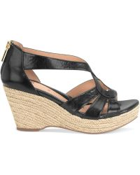 Söfft - Mena Platform Wedge Sandals - Lyst