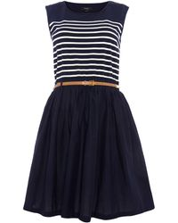 Therapy Stripe 2 in 1 Dress - Lyst