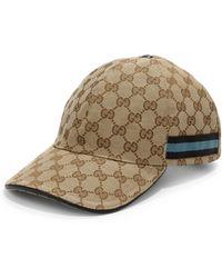 cb4ed5d9c877a3 ... amazing selection a4c4c 92016 Gucci - Logo Baseball Cap - Lyst ...
