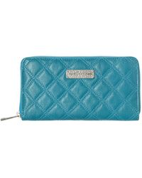 Marc Jacobs Iconic Quilting Large Zip Around Purse - Lyst