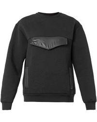 Christopher Kane Oversizedpocket Neoprene Sweatshirt - Lyst