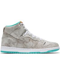 Nike Dunk High Sb beige - Lyst