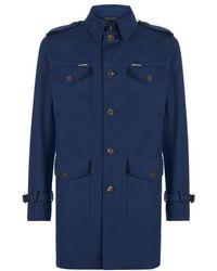 Richard James Military Coat - Lyst