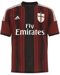 Adidas Ac Milan Home Replica Player Jersey - Lyst