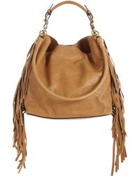 Marni Side-Fringed Hobo Bag - Lyst