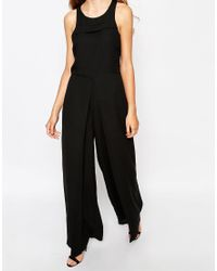 First & I - Sleeveless Jumpsuit - Lyst