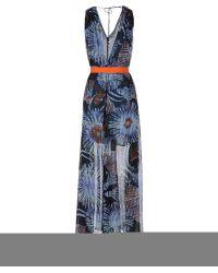 Pinko Long Dress - Lyst