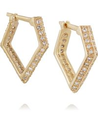Wendy Nichol - 14-karat Gold Diamond Earrings - Lyst