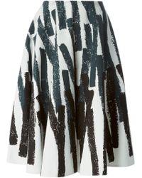 Marni Striped Skirt - Lyst
