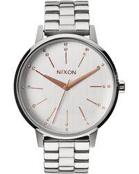 Nixon - A099-1519 Women'S Kensington Crystal Dial Watch - Lyst