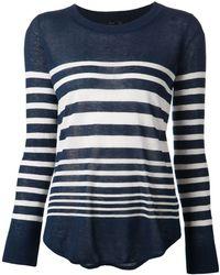Splendid Striped Sweater - Lyst