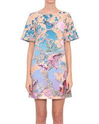 Mary Katrantzou Gaynor Dress With Discosoma Night Print - Lyst