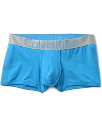 Calvin Klein Steel Low Rise Trunks - Lyst