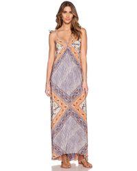 Twelfth Street Cynthia Vincent Empire Maxi Dress multicolor - Lyst