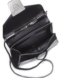 Narciso Rodriguez Carolyn Mini Mixedmedia Shoulder Bag - Lyst