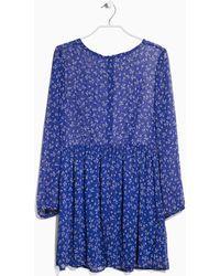Mango Liberty Print Dress - Lyst