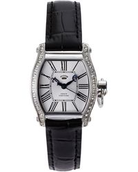 Juicy Couture 1901092 Silver-Tone & Black Watch - Lyst