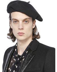Shop Men s Saint Laurent Hats Online Sale a8a8f117482f